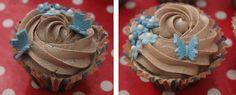 Cupcakes de vainilla y chocolate (El dulce mundo de Nerea)
