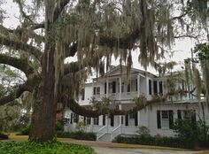 House that Nick Notle stayed in while filming Prince of Tides, and Sally Fields while filming Forrest Gump. #sctravel #setravel