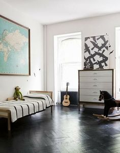 mid-century modern kid's room #homedecor #interiordesign