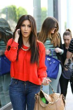 Jeans y colores neón...