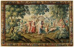 Tapestry Aubusson- Manufacture Royale 17 e