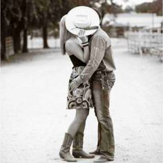 Country boys ♥  This would be a cute engagment picture someday....with my country boy! :)