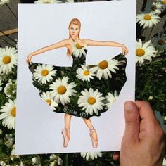 Creative Art / Funny Art ideas : Edgar Artis is an Armenian illustrator who uses a fascinating mix of paper cut outs and pencil drawings using everyday objects. This artist has a wonderful and Funny Drawings, Art Drawings, Illustration Mode, Illustrations, Arte Fashion, Music Tattoo Designs, Fashion Design Drawings, Creative Artwork, Color Pencil Art