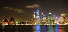 Opera House and Sydney Skyline - Sydney, New South Wales