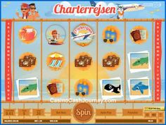 Powered by Play'n GO, Charterrejsen is a 20-line slot with 5 reels and line wins of up to 5,000 coins.  More this way...   http://www.casinocashjourney.com/slots/playn-go/charterrejsen.htm