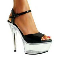 heel Dancing Shoes |Dancing Shoes Clear Heels, Black Sandals, Anna, Dance Shoes, Lady, Shopping, Dancing, Christmas, Fashion