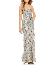 Shop for Jodi Kristopher Strapless Sequin-Pattern Long Dress at Dillards.com. Visit Dillards.com to find clothing, accessories, shoes, cosmetics & more. The Style of Your Life.