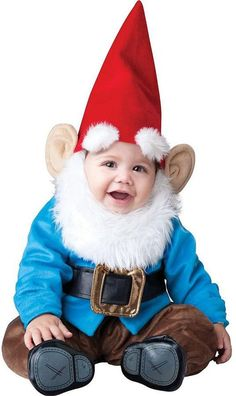 Pin for Later: 169 Warm Halloween Costume Ideas That Won't Leave Your Kids Freezing Little Garden Gnome Costume Little Garden Gnome Costume ($80)
