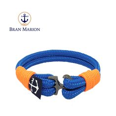 Gormlaith Nautical Bracelet by Bran Marion Nautical Bracelet, Nautical Jewelry, Marine Rope, Captain Hook, Everyday Look, Handmade Bracelets, Color Combinations, Jewelry Collection, Handsome