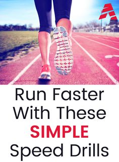 Speed drills to run faster, runners wanting to get faster, what exercises can I do to get faster, running drills to improve pace, running exercises speed