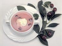 diabetes.hu • Vaníliás meggyleves Diabetes, Tea Cups, Tableware, Dinnerware, Tablewares, Dishes, Place Settings, Cup Of Tea