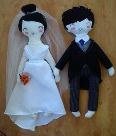 Muñecos de novios