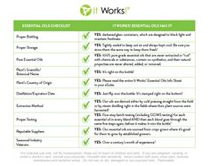 We are so excited about our newest product line and want to make sure YOU have all the information you need! Check out the graphic below and then head to your eSuite Document Library for the full It Works! Essential Oils Guide. #WeMakeOilsCool