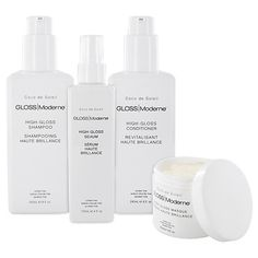 Gloss Moderne Hair Care - smells SO good and you def notice a difference.