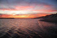 Por do sol visto da região da Duna do André, Rio Grande do Norte. (foto: Eduardo Vessoni)