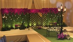 garden theme for wedding stages wedding stage decoration wedding flowers and decorations luxury Garden theme for wedding stages in Category Reception Stage Decor, Wedding Hall Decorations, Wedding Reception Design, Wedding Reception Backdrop, Marriage Decoration, Wedding Mandap, Backdrop Decorations, Wedding Blog, Wedding Prep