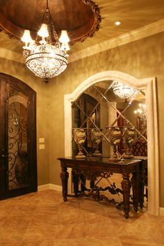 If you are having difficulty making a decision about a home decorating theme, tuscan style is a great home decorating idea. Many homeowners are attracted to the tuscan style because it combines sub… Tuscan Style Homes, Tuscan House, Mediterranean Design, Tuscan Design, Tuscan Home Decorating, Stain Techniques, Large Glass Jars, Silver Candlesticks, Inspired Homes