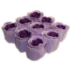 Lavender Bath Roses  £6.25 #BathRoses #Gift