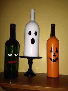 Halloween decorations. @michelle_feutz  we should have the boys paint some this year for us :)