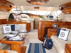 S·B Long Interiors :: Projects :: Commercial/ Ferretti Yacht.my dream. Sailboat Decor, Sailboat Interior, Sailboat Living, Living On A Boat, Yacht Design, Boat Design, Home Staging, Boot Dekor, Interior Decorating