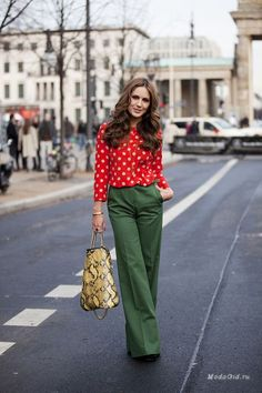 Myth or reality: green and red - in the form of a combination of tasteless waysify