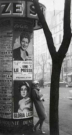 Frank Horvat - Paris ca. 1960.   Old Paris Vintage