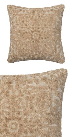 Try a little southern comfort with this luxe design. Made with 100% viscose, our Delta Pillow is super soft and super chic. Dry clean only. Made in India.  Find the Delta Pillow, as seen in the Live Like a Parisian Collection at http://dotandbo.com/collections/live-like-a-parisian?utm_source=pinterest&utm_medium=organic&db_sku=123023