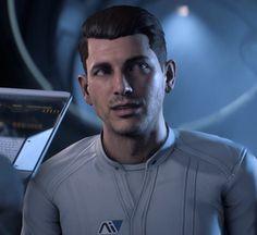 Scott Ryder-1 Mass Effect Ships, Mass Effect Games, Mass Effect 1, Mass Effect Ryder, Rainbow Six Siege Art, All Video Games, Twin Sisters, Sci Fi, Zero