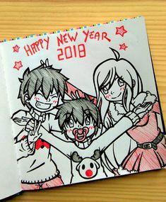 News en vrac: Bonne Annee 2018 by Sekainokame