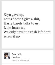 This fandom is soooo screwed up right now... We Need To Fix This and Get Ourselves Together! How freaking hard is it for you to understand!!!!! ITS NOT THAT HARD! Stay out of their business! They arent own by us! They dont have to do what we tell them to! Let them do what they need to do! If something happens you dont have to make it blow up in their faces! Let it go! I'm disgusted by this fandom right now and really getting tired of all this crap. -Emily
