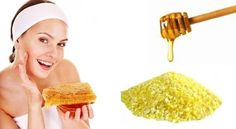 Facial Scrub with corn meal, honey and water. IMPORTANT: Baking soda is trending as a facial exfoliant, but the pH is TOO HIGH for the skin and will break it down and dry it out! Lip Scrub Homemade, Homemade Moisturizer, Green Tea Face, At Home Face Mask, Face Masks, Cellulite Scrub, Oily Skin Care, Dry Skin, Facial Scrubs
