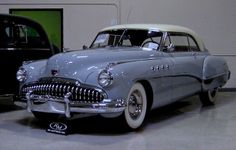 1949 Buick Roadmaster Riviera. AT LAST, Buick received its new post-war car. This one is in the form of the first hardtop named after a French resort. Cadillac followed suit with the Coupe de Ville and Oldsmobile with the Holiday also for 1949.