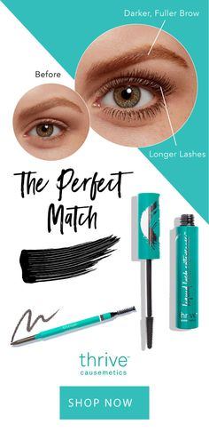 f81b934aed7 The ultimate brow perfecter and our groundbreaking mascara are the perfect  match. Get our Infinity
