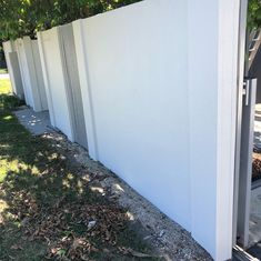 Rendered White Repainted Fence - Neilsen's Painting - House Painting Brisbane House Painter, Brisbane, Fence, Painting, Instagram, Fence Painting, Painted Houses, Painting Art, Paintings