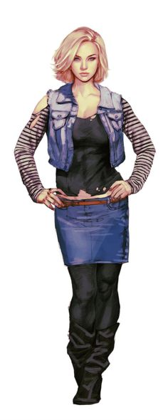 Android 18 redone by roosdy