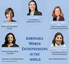 Admirable women entrepreneurs in the world
