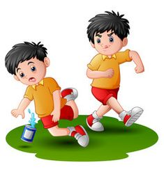 Cartoon boy kicking others vector Cartoon Boy, Cartoon Images, Cartoon Drawings, Preschool Rules, All About Me Preschool, Safety Rules For Kids, Speech Therapy Games, Powerpoint Background Design, Adhd Kids