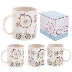 Retro Rides Ted Smith Bicycle Mug #retrobike #mug #stationery #giftware