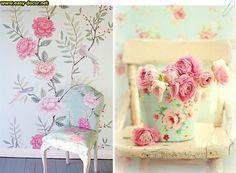 Floral-pattern-wallpaper-14 Floral Pattern Wallpaper, Curtains, Shower, Prints, Decor, Rain Shower Heads, Blinds, Decoration, Floral Wallpapers