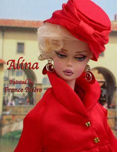 Barbie Silkstone OOAK Repaints by France Briere Accessoires Barbie, Lifeguard Chair, Wearing A Hat, Vintage Barbie Dolls, Dollhouse Dolls, Barbie Clothes, Fascinator, Fashion Dolls, Winter Hats