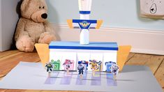 Super Wings Flughafen Toy Chest, Wings, Super, Home Decor, Decoration Home, Room Decor, Toy Boxes, Feathers, Ali