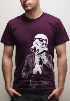 This makes me smile....Storm trooper Smarttrooper  Mens t tvshirt / by EngramClothing, $23.00