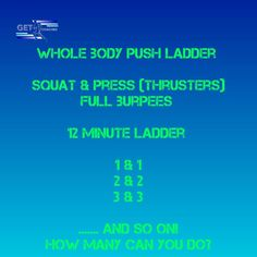 How many reps can you get to? Burpees, Squats, Squat Press, Hiit, Workout, Work Out, Squat, Squat Challenge, Exercises