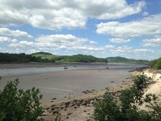 The Solway firth at Kippford, Dumfries and Galloway. Photo by JMM.
