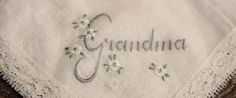 Something Borrowed! The list of ideas on this topic are endless. As the bride, try to borrow something that has a special meaning to you and perhaps to the person who is lending the item. Juliette Weddings loves this idea of Grandma's lace hankie  Content courtesy of Juliette Weddings, LLC.