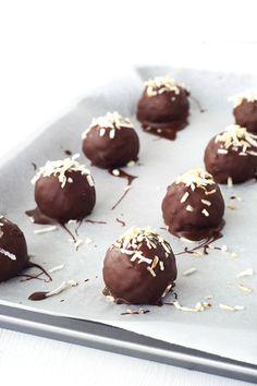 Chocolate Coconut Truffles — Sweetest Menu