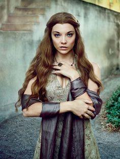 Game of Thrones - Natalie Dormer - QUEEN MARGAERY. Exclusive EW Portraits