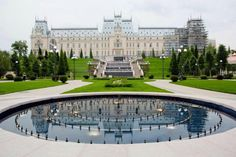 The Palace of Culture in Iasi,Romania Capital Of Romania, Wonderful Places, Beautiful Places, Visit Romania, Romania Travel, Places Worth Visiting, Cultural Capital, Famous Castles, Tuscany Italy