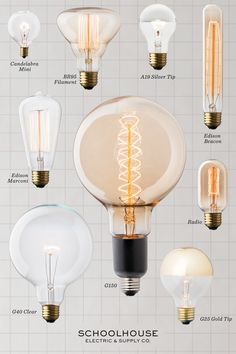 lightbulb literacy discover more unique lighting options at schoolhouse electric co black hat unique lighting