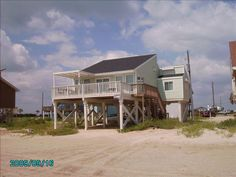 Galveston House Rental: Toes In The Sand 3/2 Galveston Beachfront 'on The Beach Front' | HomeAway